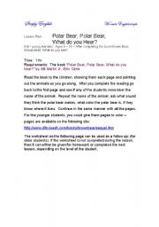 Polar bear - true or false - ESL worksheet by annaas