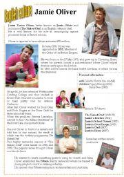 English Worksheet: English culture 6 - Jamie Oliver