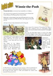 English Worksheets: English culture 8 - Winnie-the-Pooh