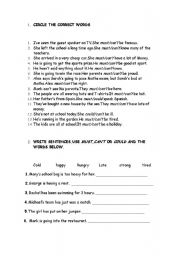 English Worksheets: speculating