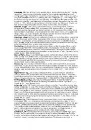 English Worksheets: illinois