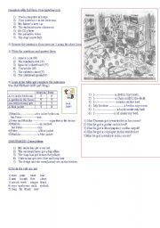 English Worksheet: HAVE/HAS GOT