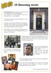 English culture 10 - 10 Downing street