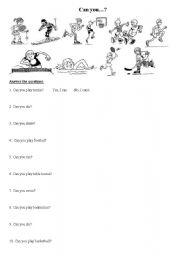 english worksheets the sports worksheets page 97. Black Bedroom Furniture Sets. Home Design Ideas