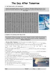 English Worksheets: The day after tomorrow