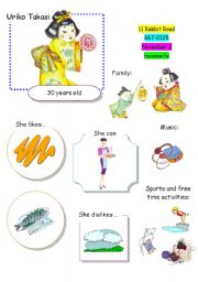 English Worksheet: Speaking Game The Town (Card 8 out of 12)