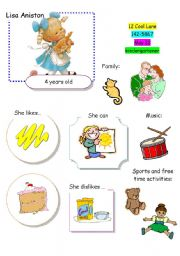 English Worksheet: Speaking Game The Town (Card 9 out of 12)
