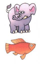 English Worksheets: animals flash cards. Set 2 of 7