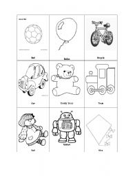 English Worksheets: memory game