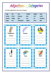 english teaching worksheets adjectives. Black Bedroom Furniture Sets. Home Design Ideas