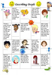 English Worksheets: LET�S FIND WHO???