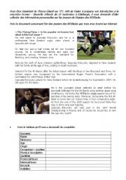 English Worksheet: Josevata Rokocoko - rugby