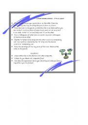 English Worksheets: Matter Experiment