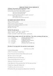English Worksheet: I will survive