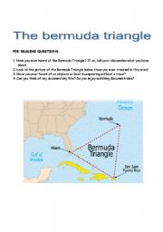 English Worksheet: The Bermuda Triangle - Reading Comprehension