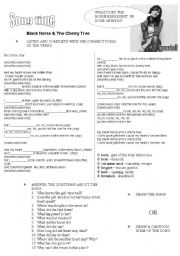 English Worksheets: LISTENING/READING COMPREHENSION SIMPLE PAST CONSOLIDATION