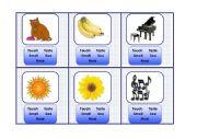 English Worksheets: Senses Cards