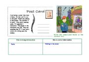 English Worksheets: Pres simple, continuous , reading & writing