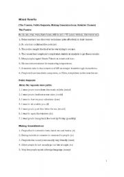 English Worksheets: Mixed Rewrite + Answers