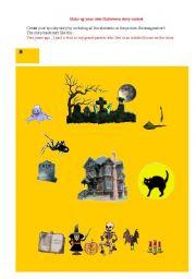 english teaching worksheets halloween stories english worksheets make your own halloween story contest