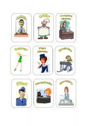 Job Cards Set #1