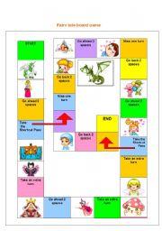 fairy tale board game esl worksheet by storyteller. Black Bedroom Furniture Sets. Home Design Ideas