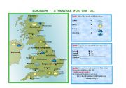 Tomorrow´s weather for the UK...