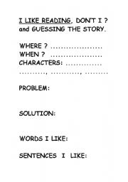 English Worksheets: To check readings