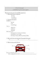 English Worksheets: fiche de compr�hension lecture de nouvelles ( niveau 2nde)
