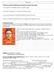 English Worksheets: fast foods