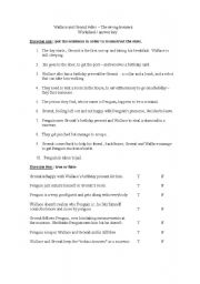 English Worksheets: Wallace and Gromit