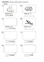 English Worksheets: What is it?
