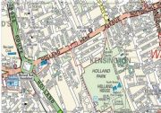 English Worksheet: Directions - Make your way through a real London Map