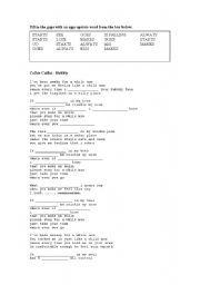 English Worksheet: Present Simple - Song Activity