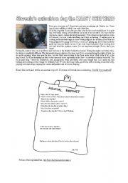 English Worksheets: Karst shepherd