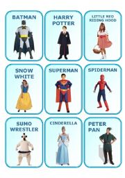 English worksheet: WHO ARE YOU?