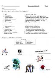 English Worksheets: Plot
