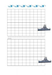 English Worksheets: Battleship English