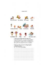 English Worksheets: A DAY OUT