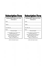 English Worksheet: How to fill in an application form!