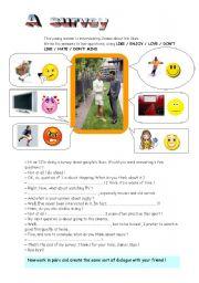 English Worksheets: A survey
