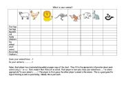 English Worksheets: What�s my animal?