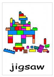 English Worksheet: jigsaw