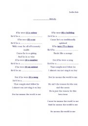 2nd conditional - vocabulary revision -