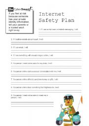 photograph about Free Printable Internet Safety Worksheets known as Web basic safety worksheets