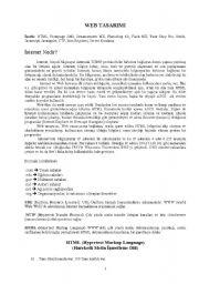 English Worksheets: html notes