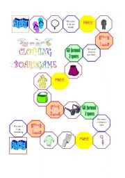 Clothing Boardgame