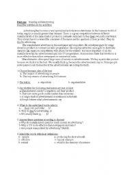 English Worksheets: advertiing