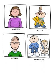 Flashcards about family