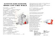 Little Red Riding Hood by Roald Dahl